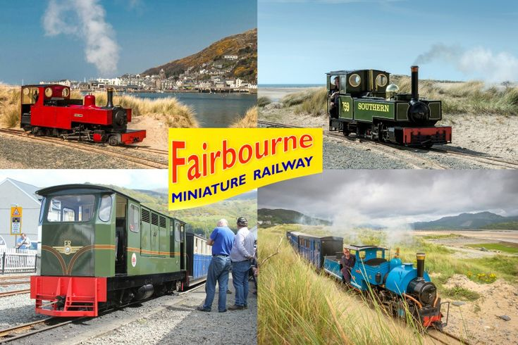 Narrow Gauge Steam Railway - Fairbourne Steam Railway in Wales