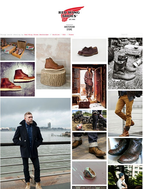 Best 25  Redwing store ideas on Pinterest | Red wing boots store ...