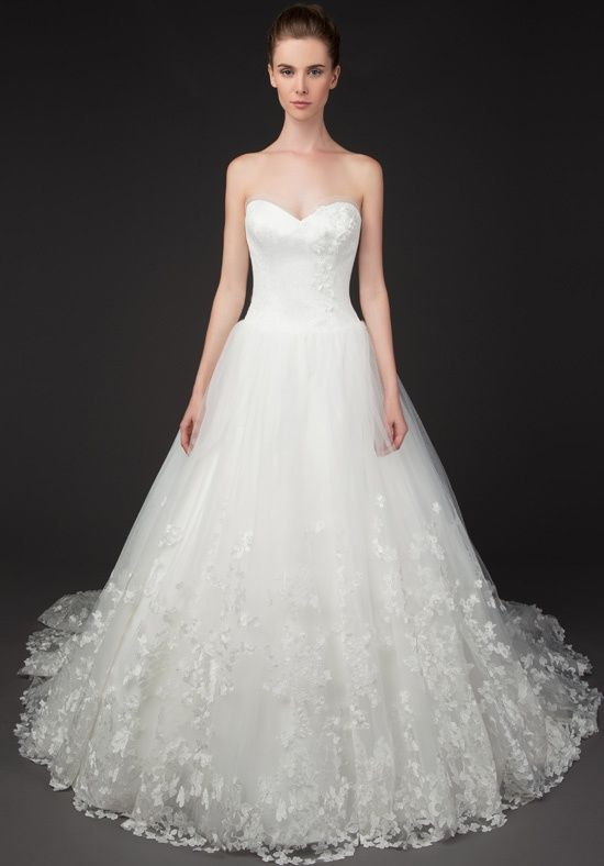 Tabatha 8429 ball gown with sweetheart neckline ruched for Sweetheart neckline ruched bodice wedding dress