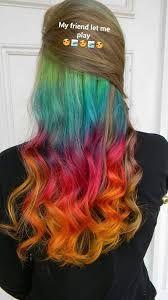 """Résultat de recherche d'images pour """"hidden rainbow hair"""""""