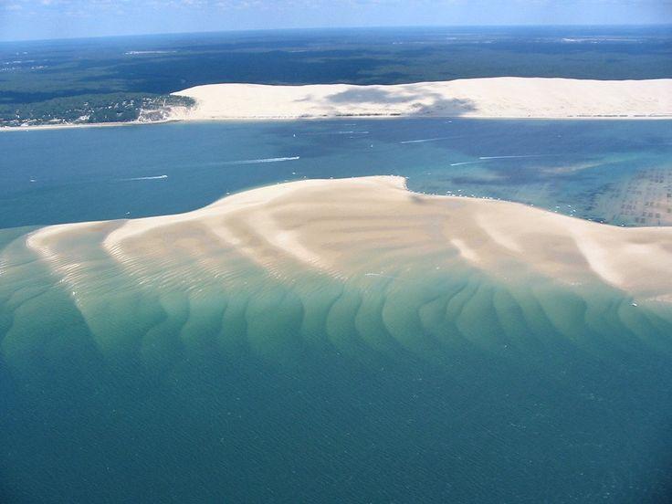 Dune du Pyla et banc d'Arguin
