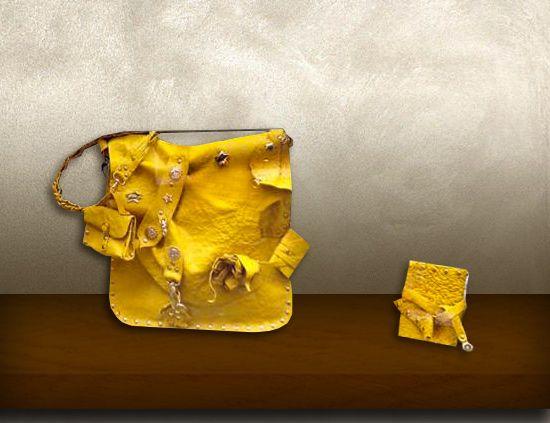 Tolfa pelle gialla