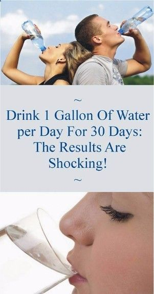 Do you know What will happen to your Body If you Decide to Drink 1 Gallon of Water for 30 days in a Row, I guess you don't So you better Check ASAP !