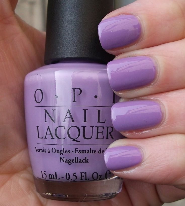 OPI Do You Lilac It? I wore this on my fingernails last spring and got tons of compliments.