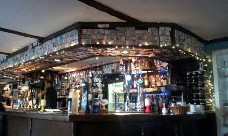 Interior de The Twice Brewed Inn. Cerca de Vindolanda.