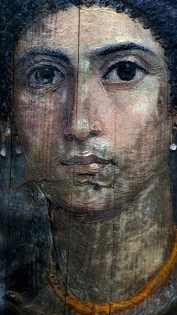 Egyptian Museum, Cairo - Egypt.100CE - 300CE Fayum / Romano-Egyptian / Roman / EncausticMore Pins Like This At FOSTERGINGER @ Pinterest