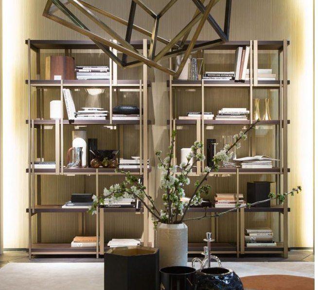 Design Massimiliano Raggi MONDRIAN bookshelf