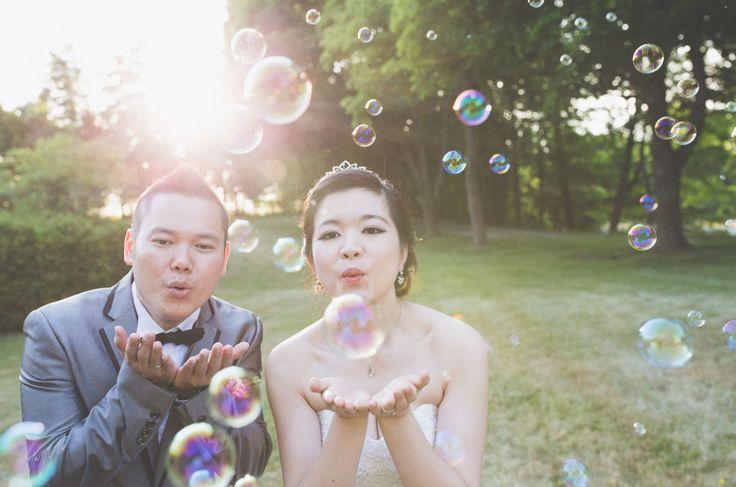 Wedding Shoot / Scotsdale Farm / Wedding Photography / Toronto Photographer / Bubbles / www.wilsonhophotography.com