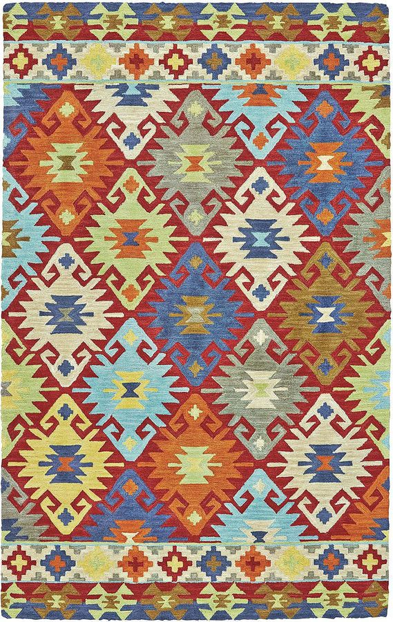 Feizy Rugs Lonni Southwestern Indoor/Outdoor Rectangular Rug