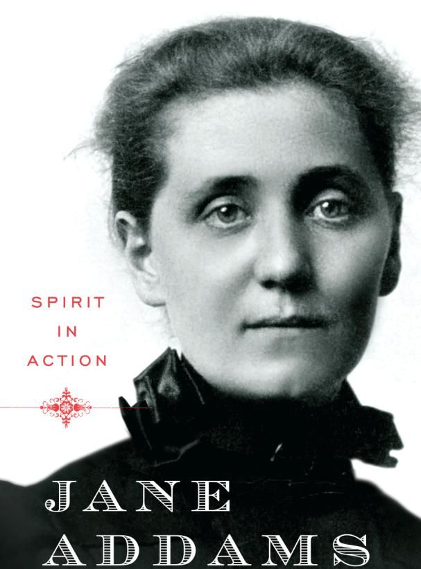 Jane Addams    Google Image Result for http://www.socialworkersspeak.org/wp-content/uploads/2010/09/janeaddamscover.jpg