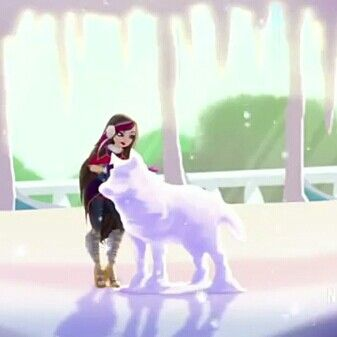 Ramona Badwolf epic winter snow wolf ever after high