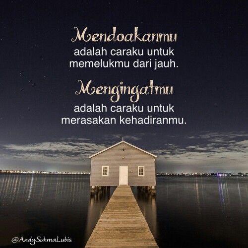 Mendoakanmu mengingatmu