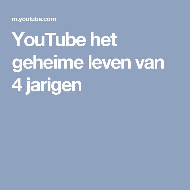 YouTube het geheime leven van 4 jarigen