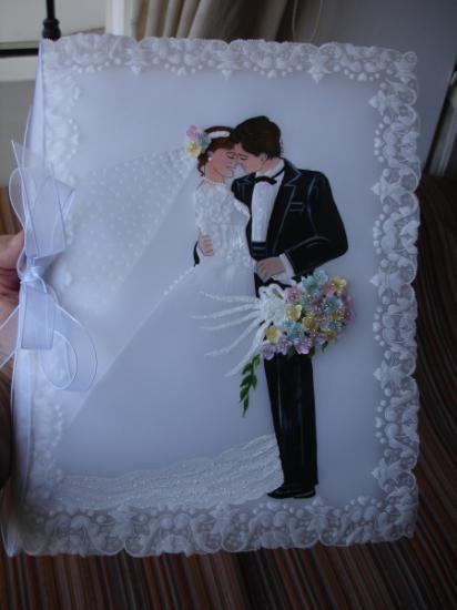 libro de firmas para matrimonio  papel pergamino 180gr.,tizas pastel  ,diamantina   cinta dibujado   pintado a mano,repujado en pergamino