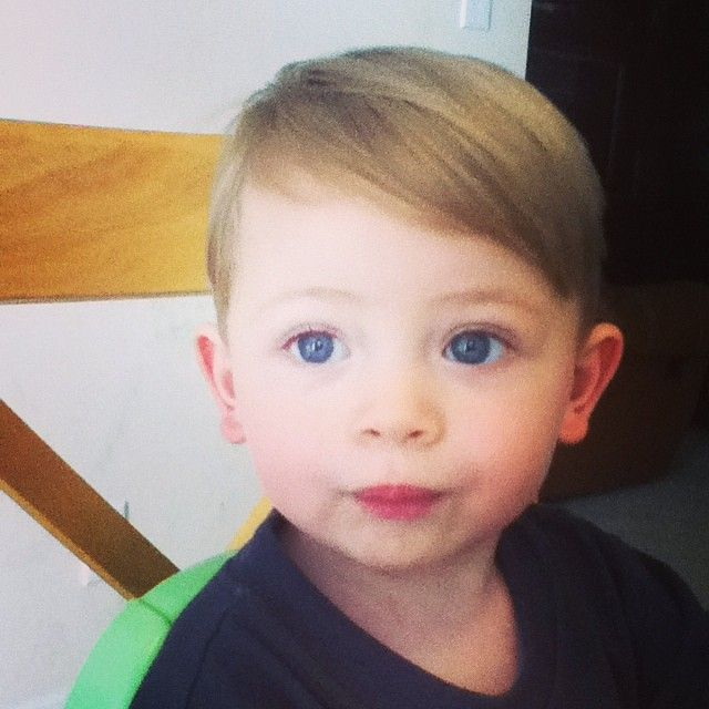 Pleasant 1000 Ideas About Boys First Haircut On Pinterest First Haircut Short Hairstyles For Black Women Fulllsitofus