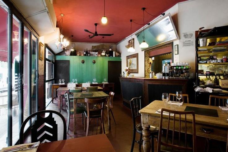 Restaurante italiano Xemei en Barcelona. En Poble Nou. Caro.