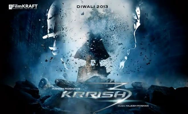 Krrish 3 Poster: First look teaser-poster is Impressive! - Hmm we'll see