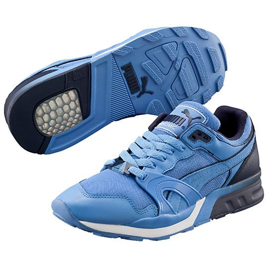 <p>Back in the 1990s, running shoes weren't afraid to show off their goods. PUMA added to the visual technology boom with Trinomic: clear rubber cells that collapsed and rebounded for cushioning, stability, motion control and double-takes. Trinomic's first superstar was the PUMA XT family. At the forefront? The XT-1. This season's blurred effect graphic gives the old classic a fresh, modern twist.</p><p>Features:</p><ul><li>Suede and t...