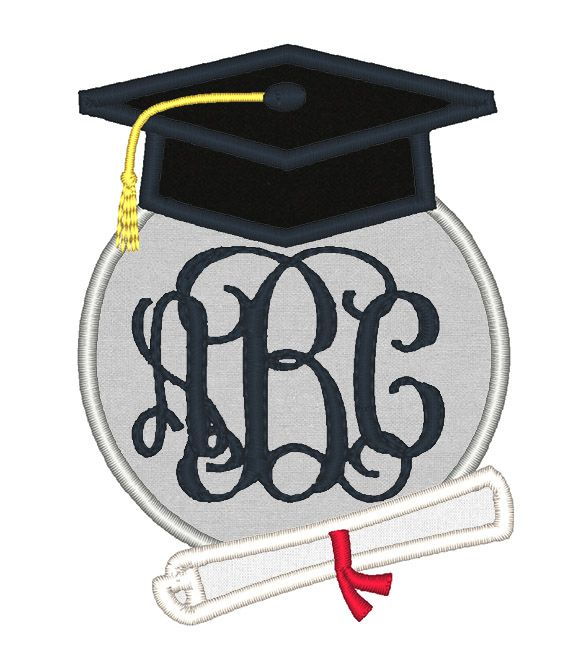 Designs occasions graduation monogram