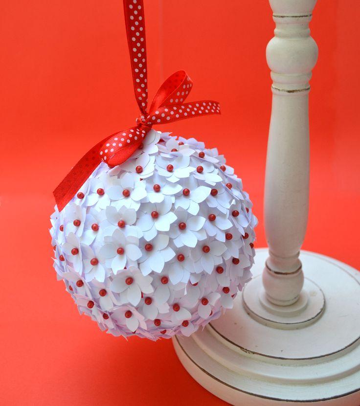 Les 25 meilleures id es concernant boule polystyrene sur for Comboules de noel en polystyrene