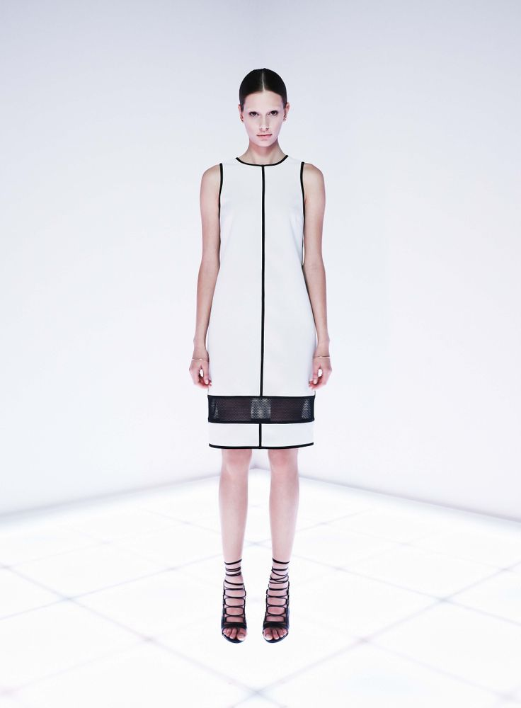 Piconet Dress by CAMILLA AND MARC http://www.camillaandmarc.com/syntax-skirt-black-w-white.html