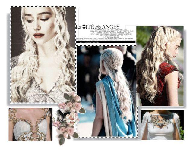 """Daenerys Style"" by il-criticatore-di-telefilm on Polyvore featuring moda, GameOfThrones, got, daenerys e EmiliaClarke"