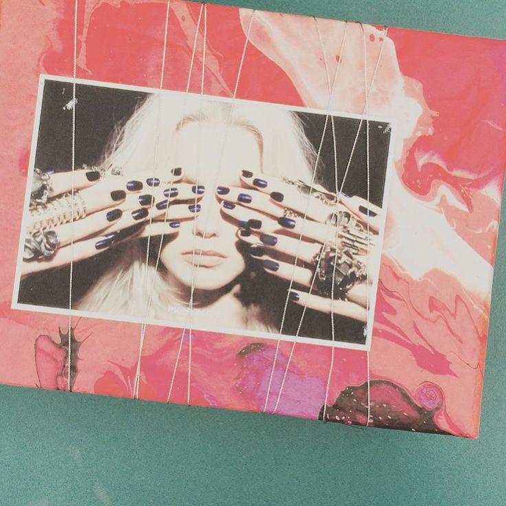 Happy 21st | Marble tissue paper, ribbon & postcard | Whole body brush indulgence kit