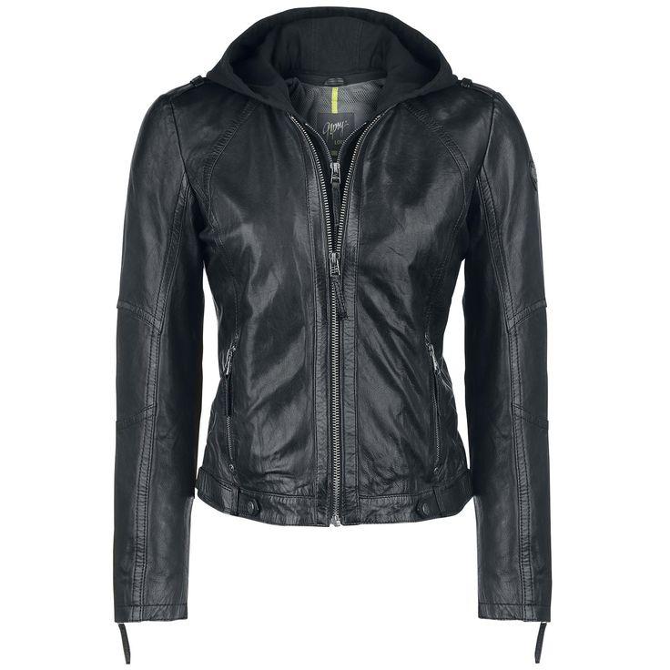 Gipsy  Lederen jas  »Joana« | Nu te koop bij Large | Meer Casual wear  Lederen jassen online beschikbaar - De beste prijs!