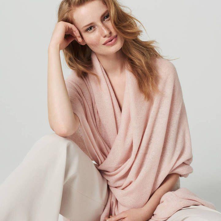 Winser London Luxurious Oversized Cashmere Wrap