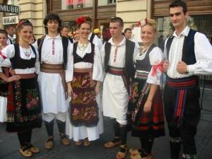 some traditional Serbian entertainment?? probably not in the budget but we will be dancing the kolo!