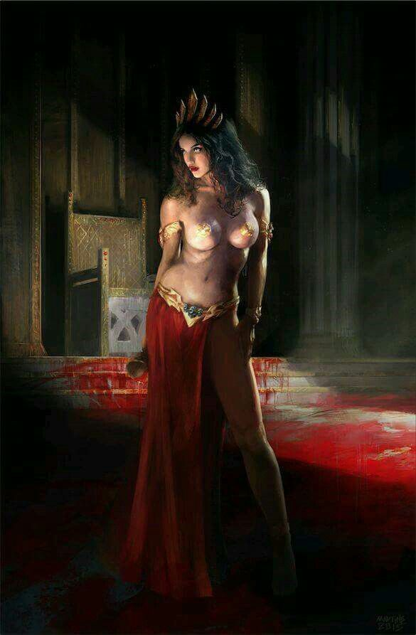 queen of the damned erotica nude