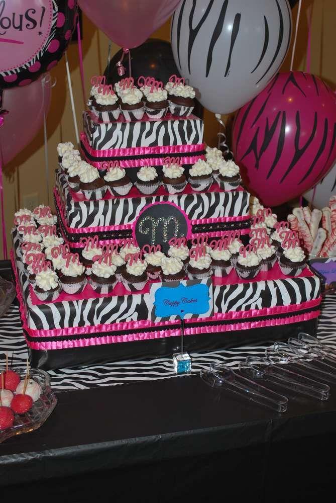 Zebra Cakes Birthday