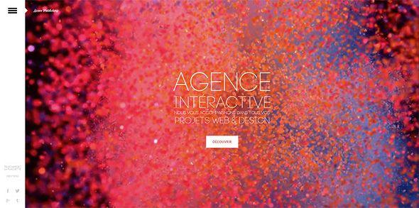 Абстрактные фоны в веб-дизайне