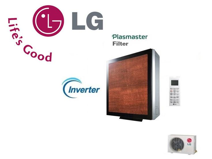 LG ARTCOOL Gallery Cherry Wood Inverter PLUS – G12PK-c – 12000 Btu/h