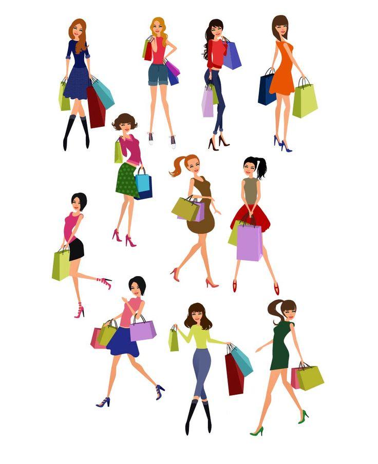 Shopping girls vector #fashionshopping #girlvector #vectorshopping #vectorshoppinggirl  http://www.vectorvice.com/shopping-girls-vector
