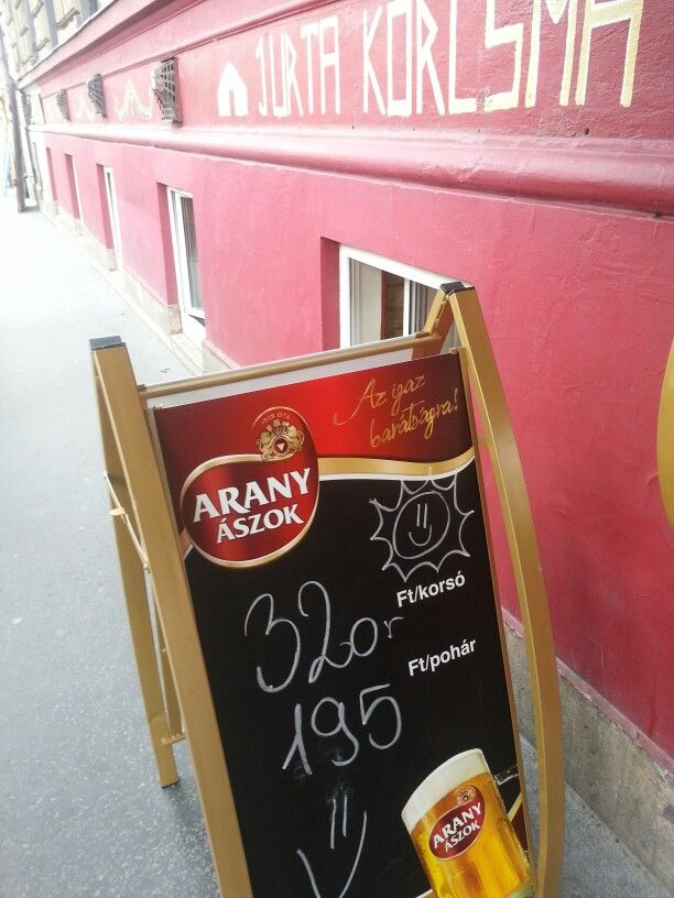 Beer for 1 Euro (500 ml)