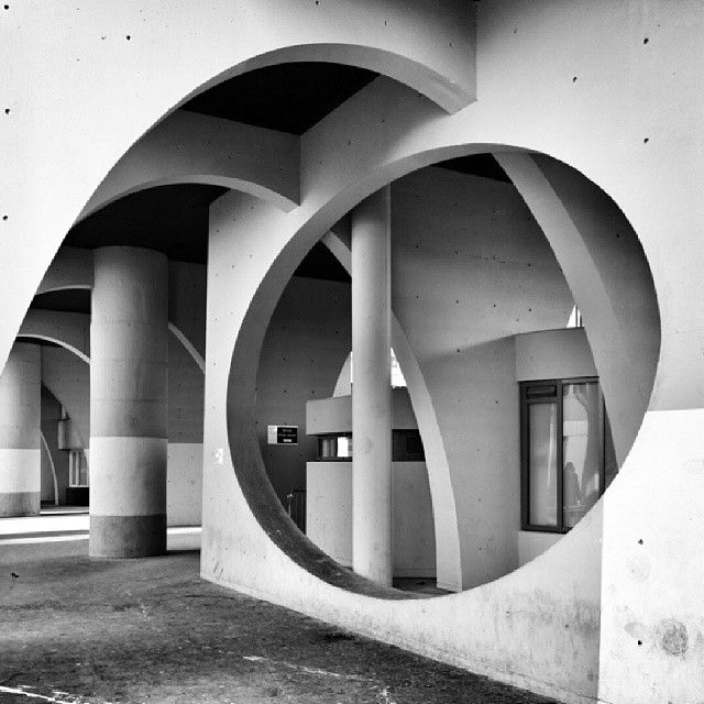 cit spinoza architecte ren e gailhoustet 1970 ivry sur seine by olivier leclerc from air. Black Bedroom Furniture Sets. Home Design Ideas