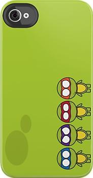 TMNT Teenage Mutant Ninja Turtles iPhone case