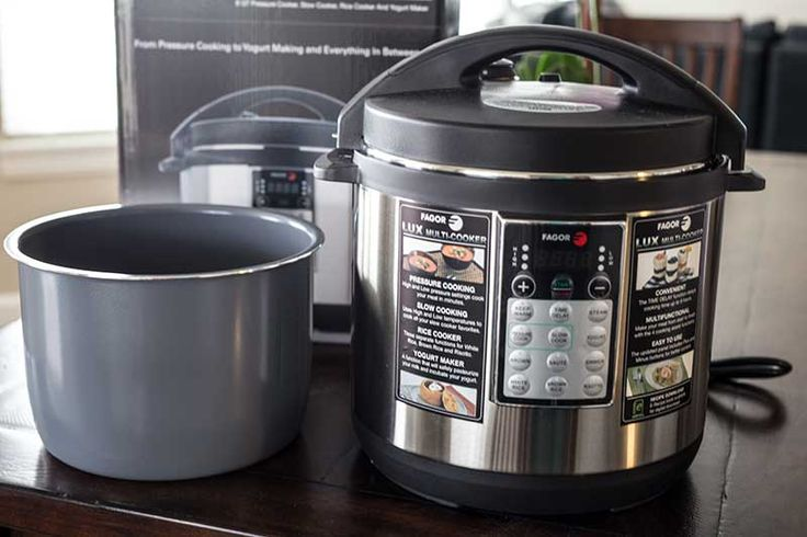 Just in time for Mother's Day, Fagor sent me their top rated Fagor LUX 8 Quart Multi-Cooker to review and host a giveaway!