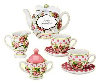 Tea For Me and You Childs Set