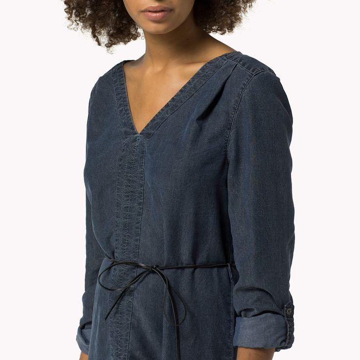 chambray kleid ist der Höhepunkt der Saison: aus der neuesten Tommy Hilfiger Kleider Kollektion für Damen. Kostenlose Lieferung & Retouren.