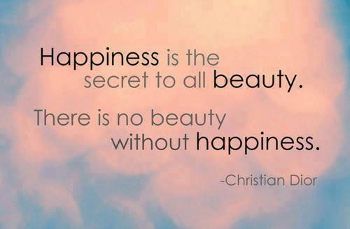 Christian Dior quote #happiness