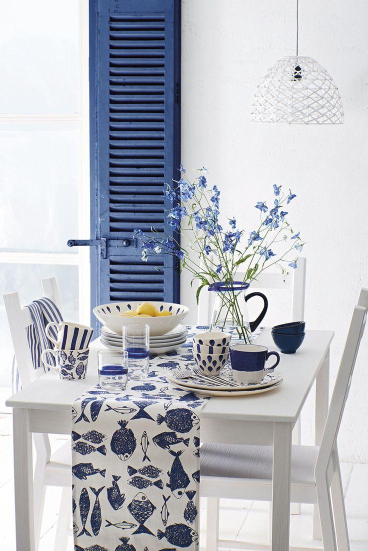 Sainsbury's Spring/ Summer 2015 Aqua Dining