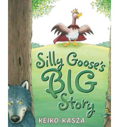Goose's friends love the stories he makes up when they're playing. Except one thing--Goose is always the hero. And when they ask to take turns leading the fun, Goose doesn't agree. While they argue about it, no one notices the hungry wolf sneaking up on them until he shouts,