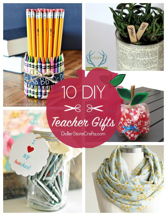 10 cute diy teacher gifts budget friendly cute crafts for Easy craft gift ideas