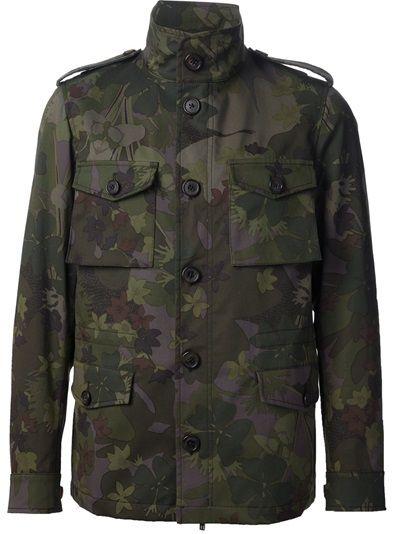 ETRO* Camouflage Military Jacket