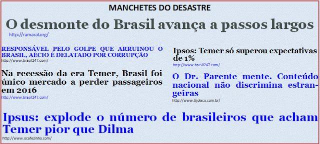 """Além d'Arena: Tributo aos idiotas do """"Fora Dilma!"""" XV"""