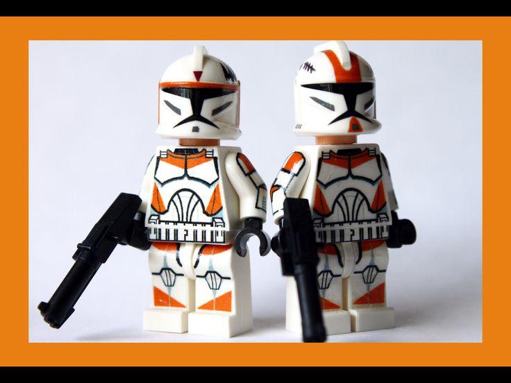 7 best Lego Star Wars Custom Clones images on Pinterest   Lego star ...