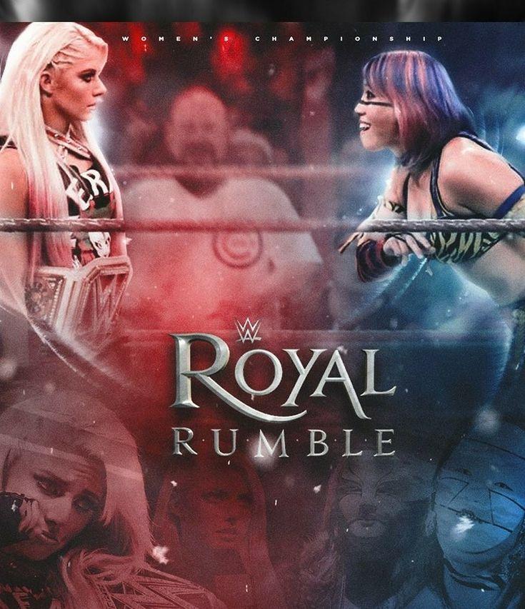 Royal Rumble January 28, 2018 featuring Alexa Bliss & Asuka