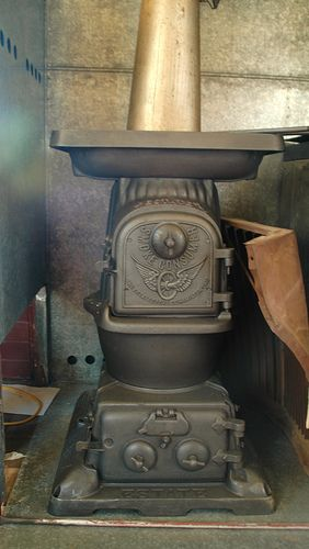 caboose stoves | Caboose stove | Antique stoves ...